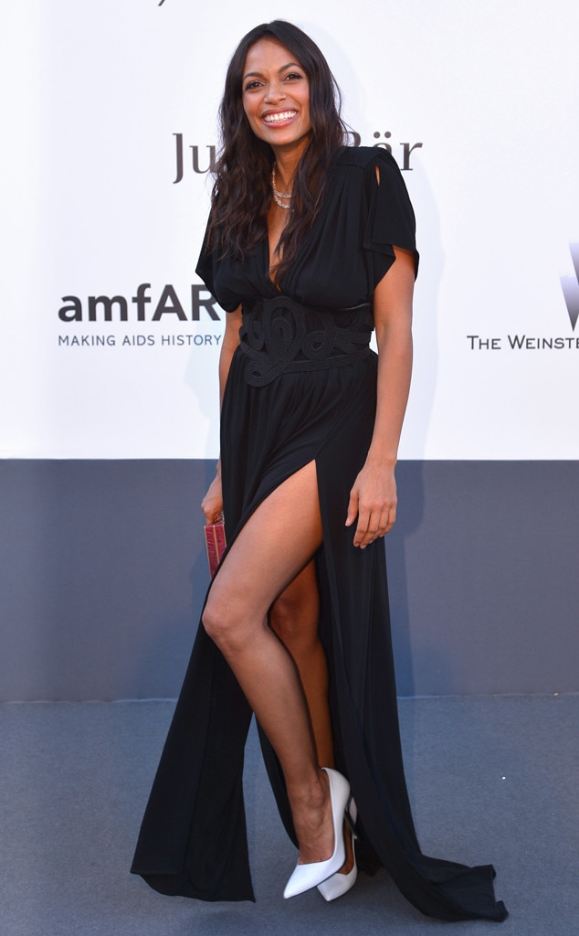 Rosario Dawson, amfAR