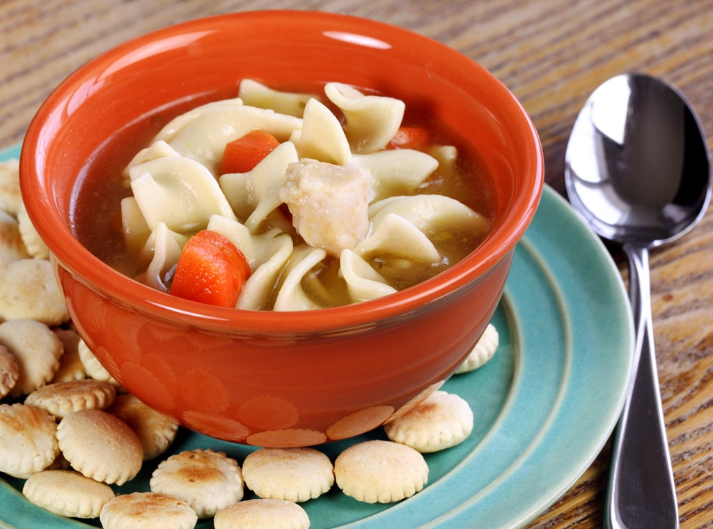 Chicken Noodle Soup, Hangover Food