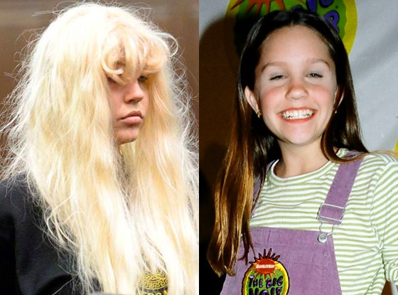 Amanda bynes then and now 2013