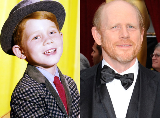 Ron Howard, Then and now