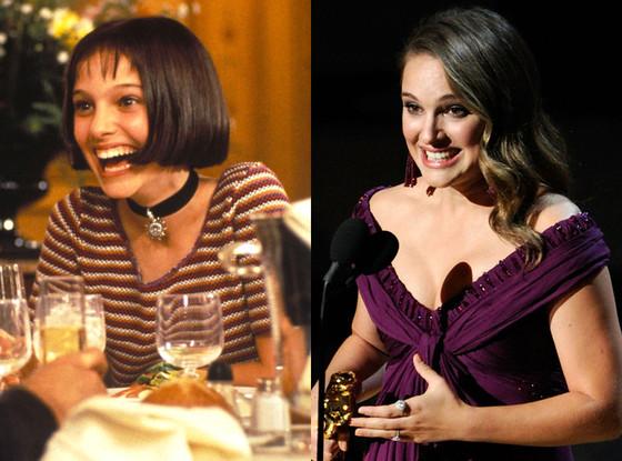 Natalie Portman, Then and now