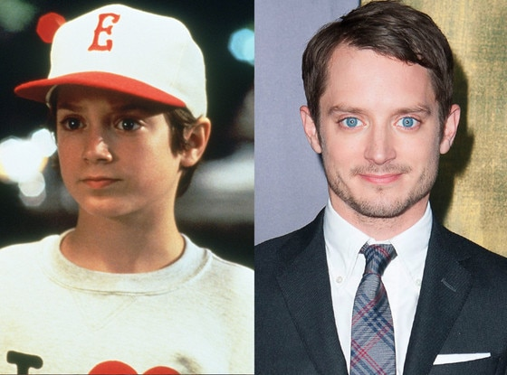 Elijah Wood, Then and now