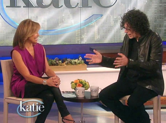 Howard Stern, Katie Couric, Legs