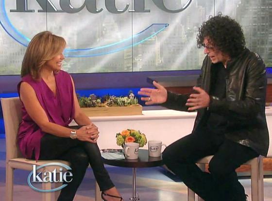 Howard Stern, Katie Couric, Legs