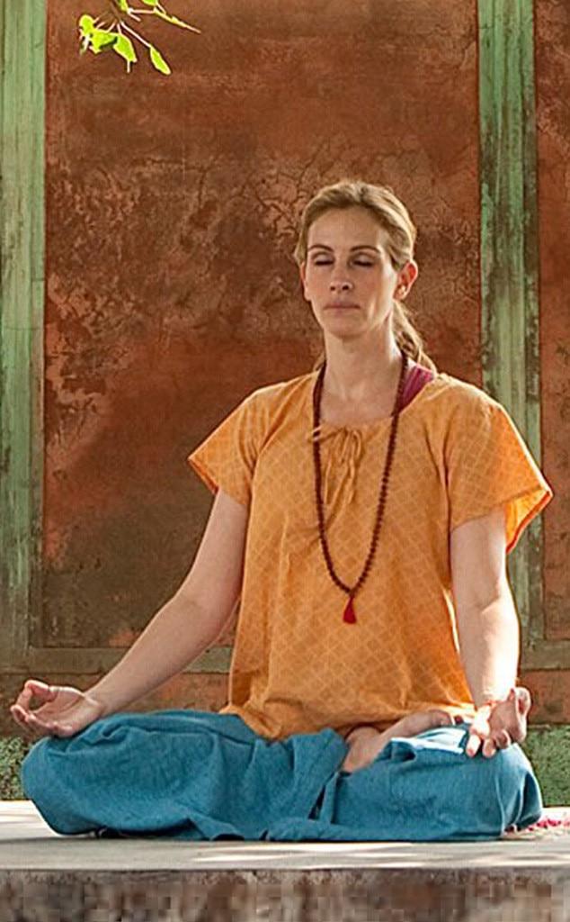 Julia Roberts, Yoga, Eat Pray Love