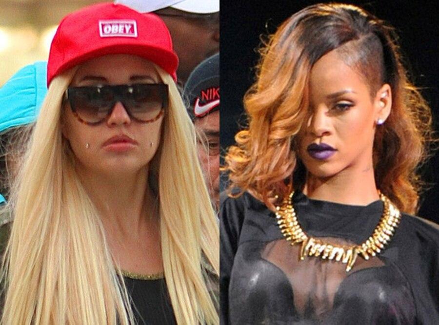 Rihanna, Amanda Bynes
