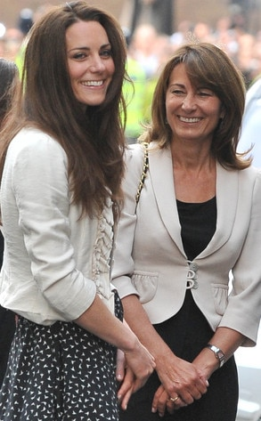 Kate Middleton, Duchess Catherine, Carole Middleton