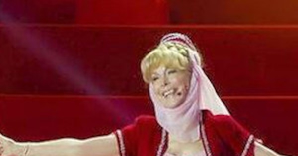 Barbara Eden Bares Midriff At Age 78 In Sexy I Dream Of