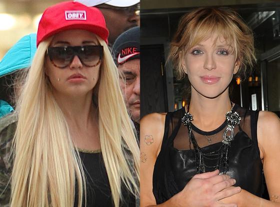 Amanda Bynes, Courtney Love