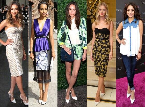 Jessica Alba, Kerry Washington, Louise Roe, Rosie Huntington-Whiteley, Vanessa Hudgens