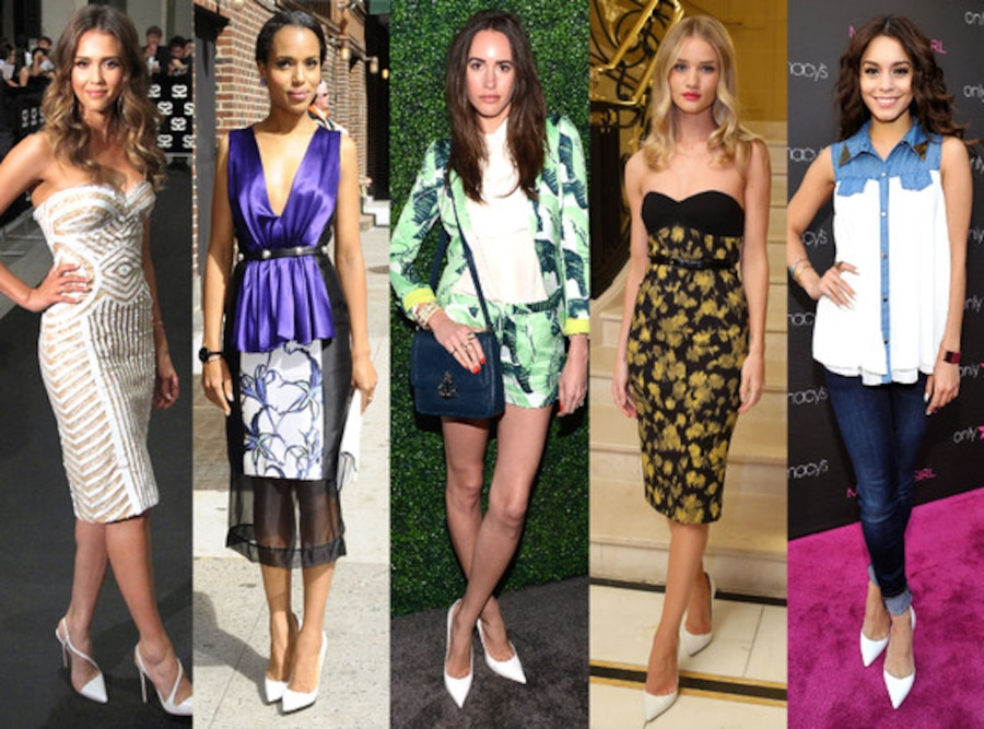 Jessica Alba, Kerry Washington, Louise Roe, Rosie Huntington-Whiteley, Vanessa Hudgens