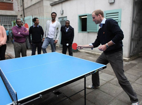 Prince William, Centrepoint Charity