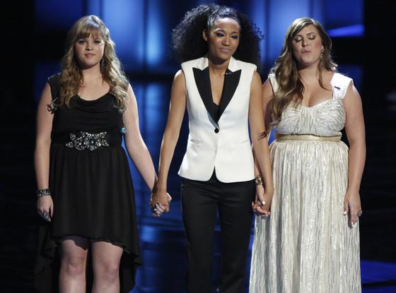Holly Tucker, Judith Hill, Sarah Simmons, The Voice