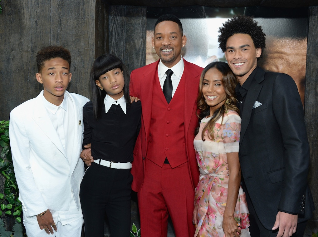 Jaden Smith, Willow Smith, Will Smith, Jada Pinkett Smith, Trey Smith