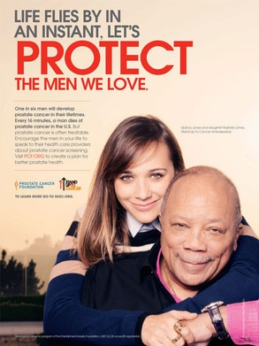 Rashida Jones, Quincy Jones, Stand Up To Cancer PSA
