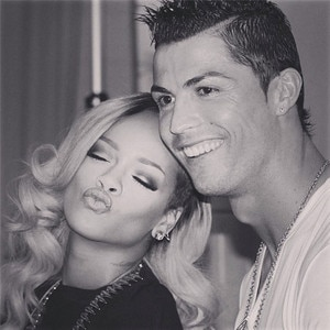 Rihanna, Cristiano Ronaldo, Instagram