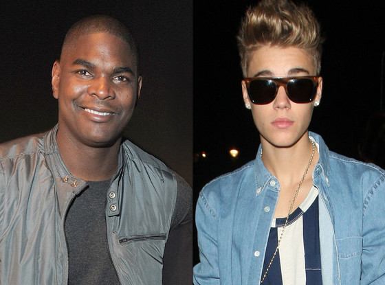 Keyshawn Johnson, Justin Bieber