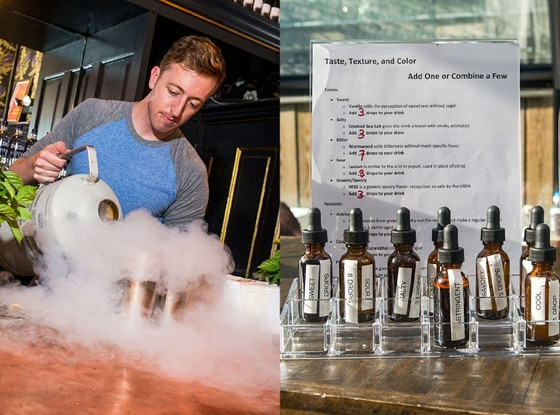 Liquid Nitrogen Cocktails