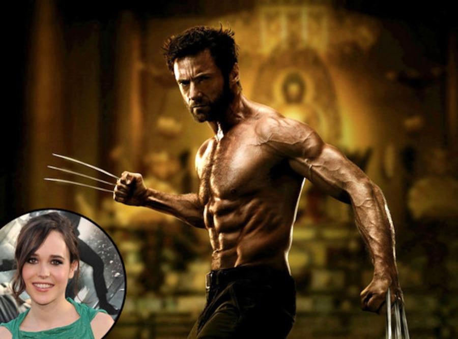 Hugh Jackman, The Wolverine, Ellen Page