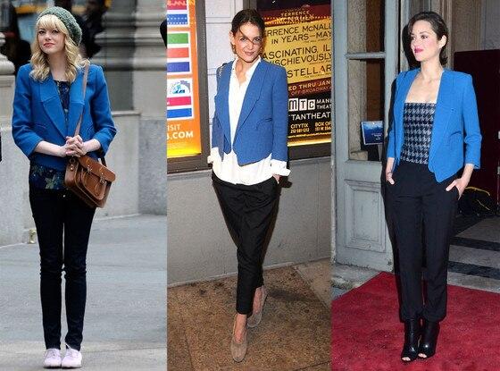 Emma Stone, Marion Cotillard, Katie Holmes, Chloe Jacket