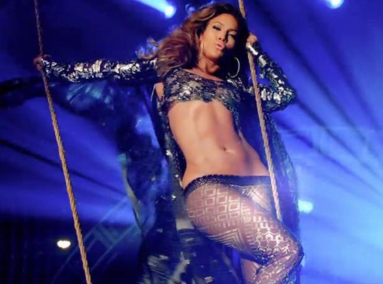 Jennifer Lopez, Live it up video