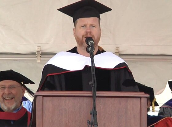 Joss Whedon, Wesleyan Commencement