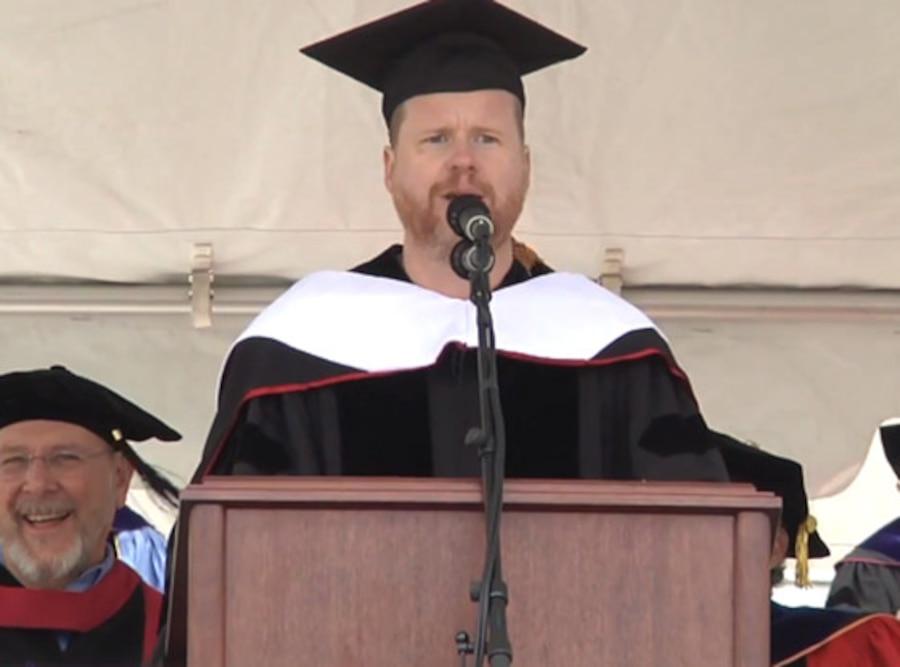 Joss Whedon, Wesleyan Commencement