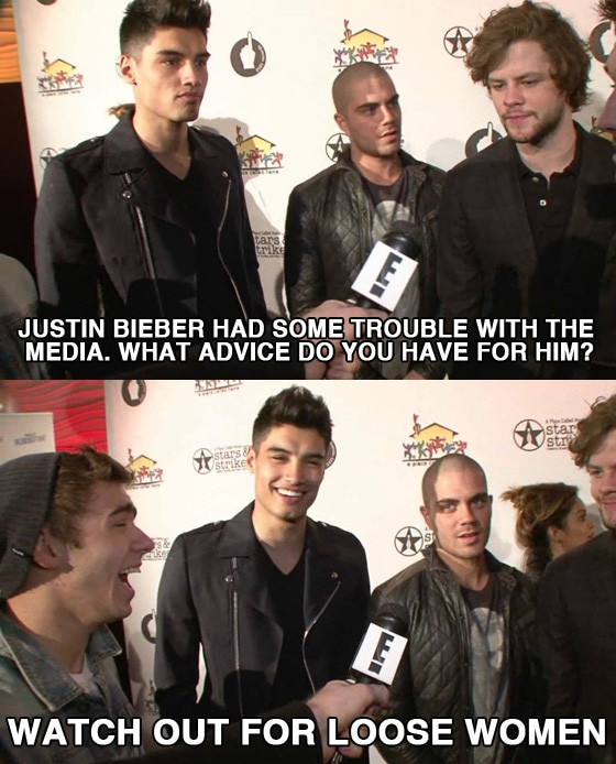 The Wanted Bieber Meme