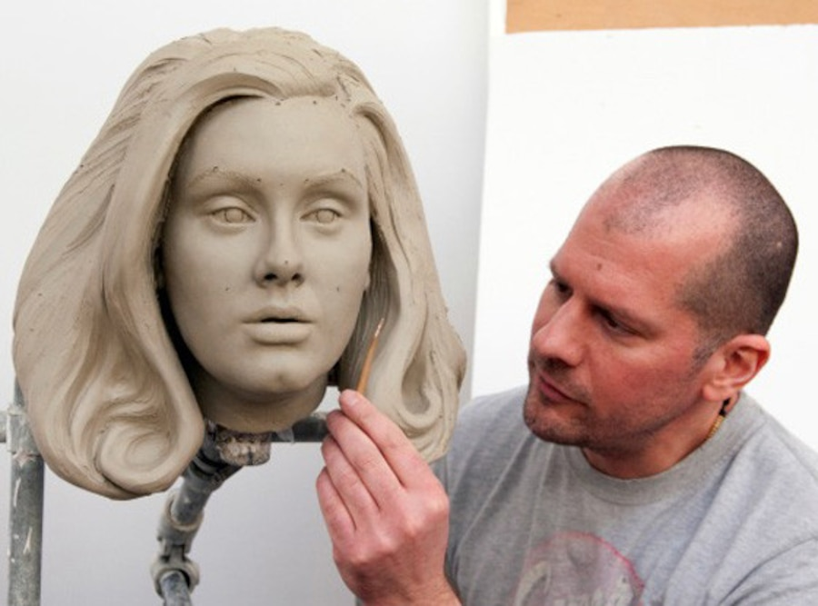 Adele, Madam Tussauds, Wax Figure