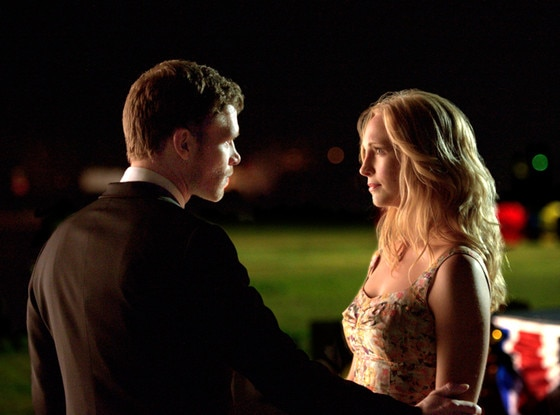 Joseph Morgan, Candice Accola, The Vampire Diaries