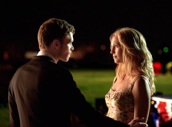 Joseph Morgan, Candice Accola, The Vampire Diaries