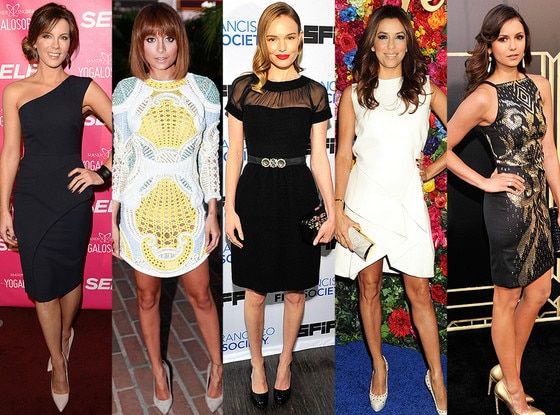 Nicole Richie, Kate Bosworth, Nina Dobrev, Eva Longoria, Kate Beckinsale