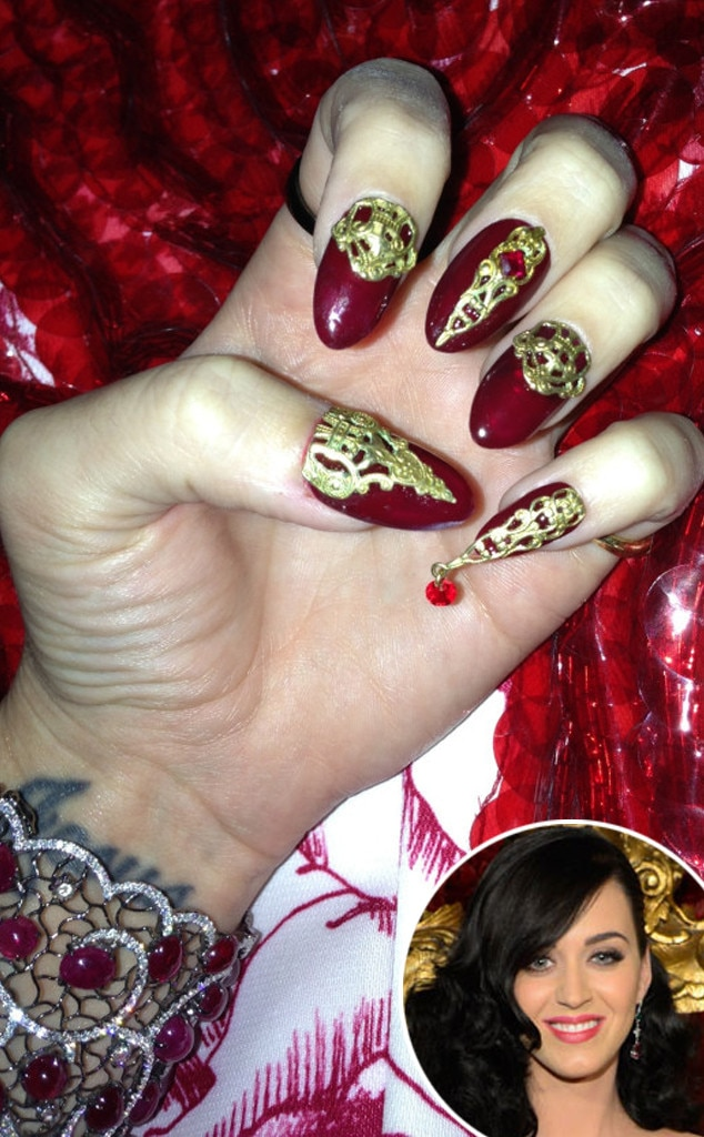 Katy Perry, Nails