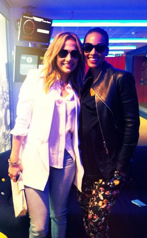 Alicia Keys, Jennifer Lopez, Twit Pic