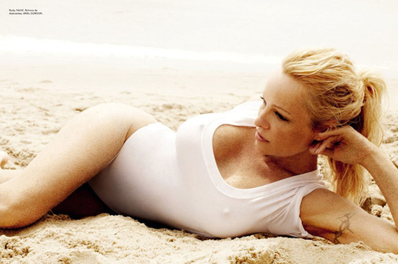 Pamela Anderson, Vogue Brazil
