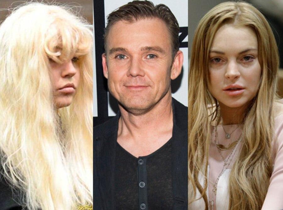 Amanda Bynes, Ricky Schroder, Lindsay Lohan