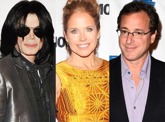 Michael Jackson, Katie Couric, Bob Saget