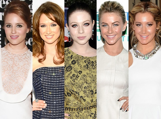 Ellie Kemper, Dianna Agron, Ashley Tisdale, Michelle Trachtenberg, Julianne Hough