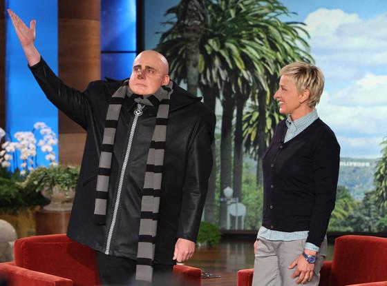 Steve Carell, Ellen DeGeneres
