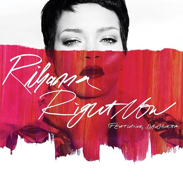 Rihanna, Right Now single cover