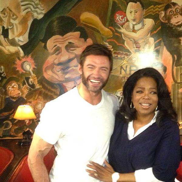 Hugh Jackman, Oprah Winfrey, Instagram