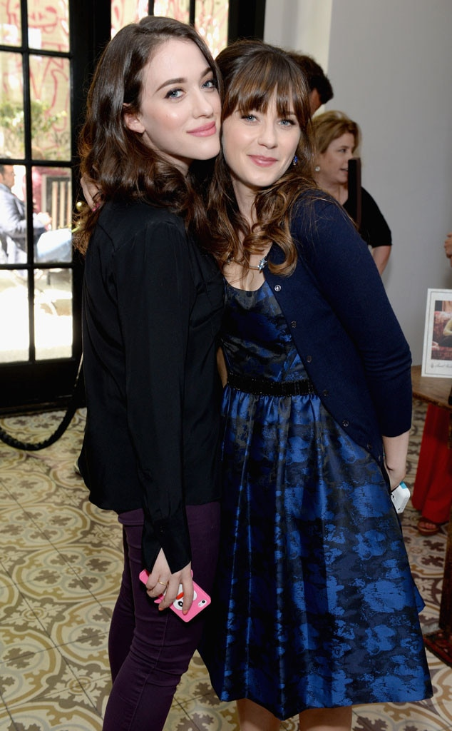 Kat Dennings, Zooey Deschanel
