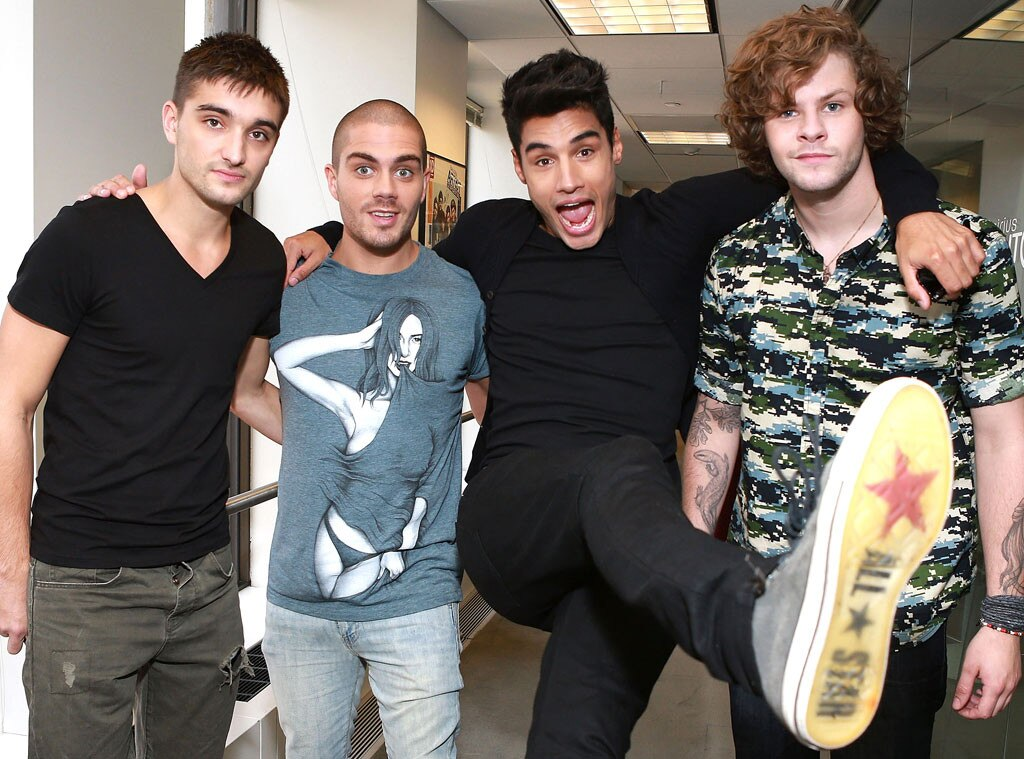 The Wanted, Tom Parker, Max George, Siva Kaneswaran, Jay McGuiness