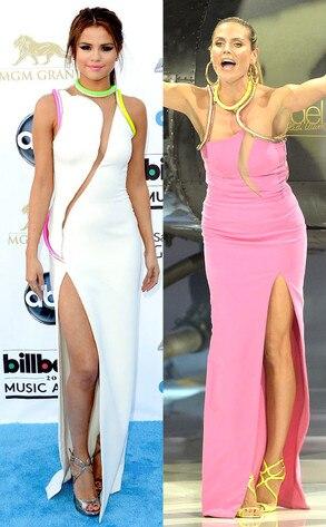 Selena Gomez, Heidi Klum