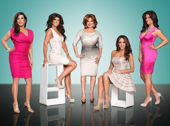 Jacqueline Laurita, Teresa Giudice, Caroline Manzo, Melissa Gorga, Kathy Wakile, The Real Housewives of New Jersey
