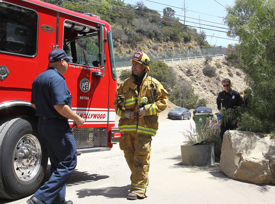 The Los Angeles Fire Department, Katy Perry