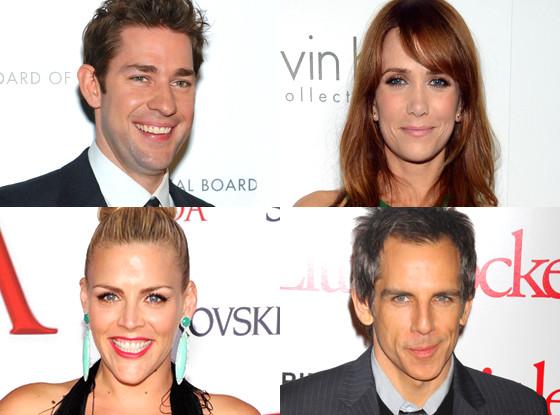 John Krasinsk,i Ben Stiller, Kristen Wiig, Busy Phillip