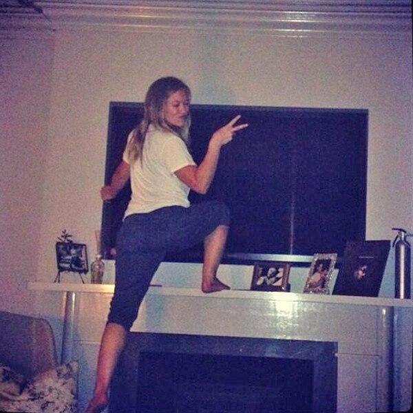 Hilary Duff, Twit Pic