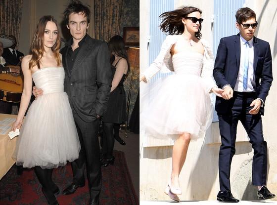 Rupert Friend, Keira Knightley, James Brighton, Wedding