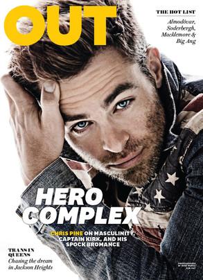 Chris Pine, Out Magazine